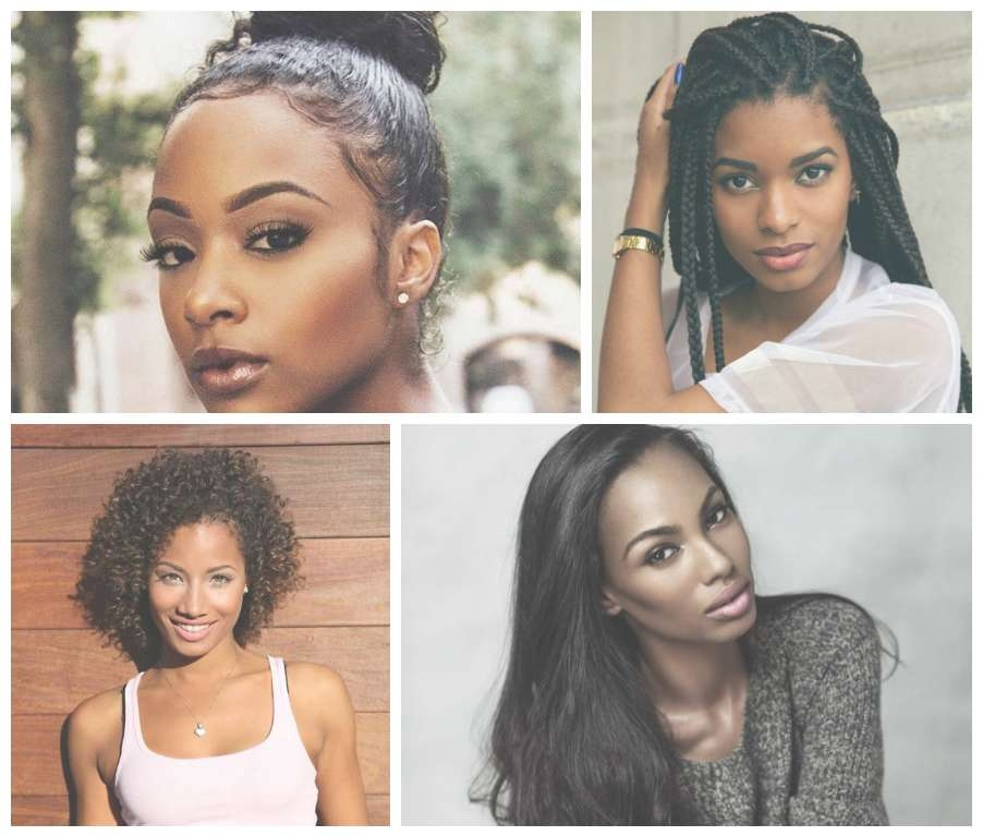 Black Women Hairstyles | Haircuts, Hairstyles 2017 And Hair Colors Pertaining To Recent Edgy Medium Haircuts For Black Women (View 22 of 25)