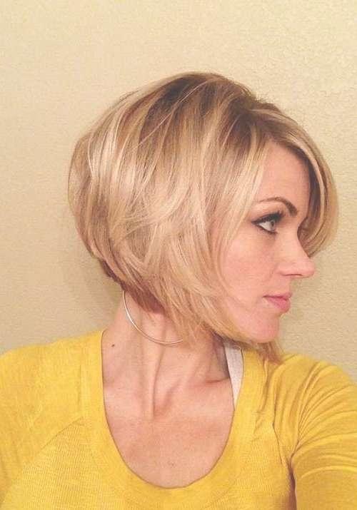 Blonde Bob Haircuts For Fine Hair – Hairzstyle : Hairzstyle With Bob Haircuts For Fine Hair (View 19 of 25)