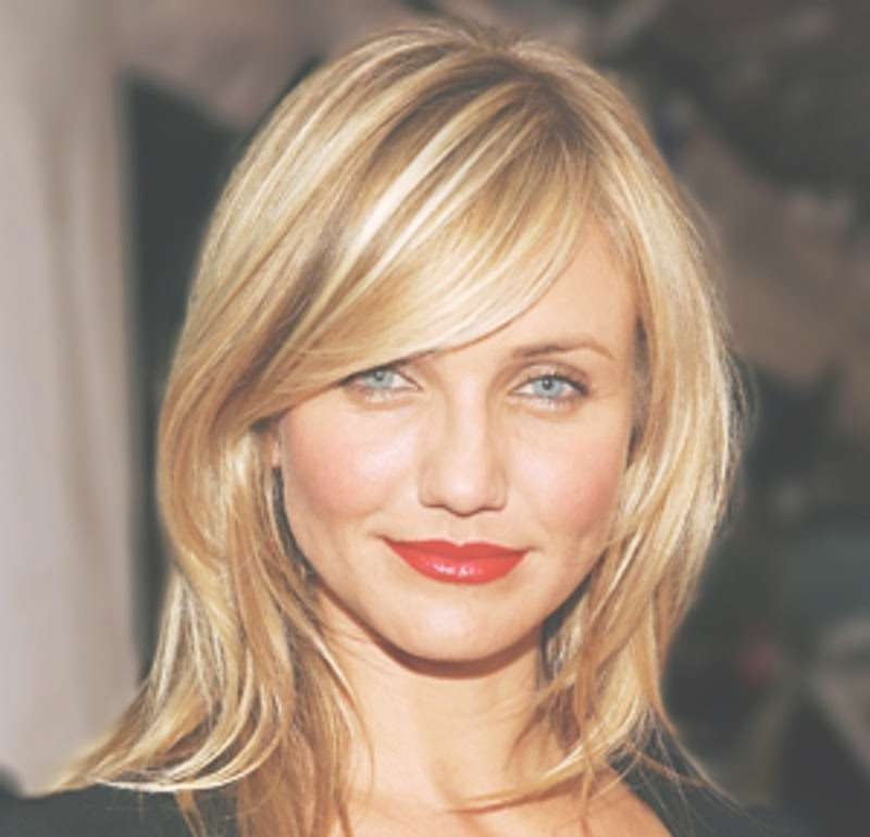 Blonde Medium Haircuts For Women | Wardrobelooks With Regard To Latest 2014 Medium Hairstyles (View 11 of 25)