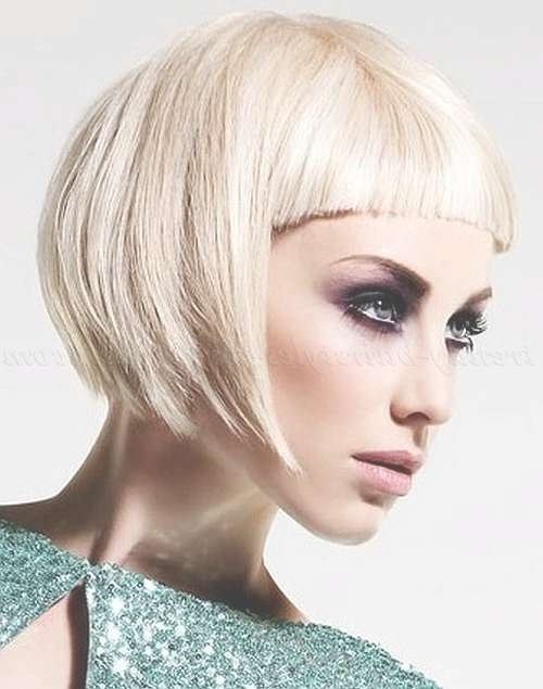 Bob Haircut – Bob Hairstyle With Fringe   Trendy Hairstyles For With Regard To Short Bob Hairstyles With Fringe (View 13 of 25)