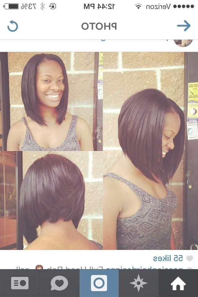 Bob Haircut For Black Women – Hairstyle Fo? Women & Man Pertaining To Black Bob Haircuts (View 23 of 25)