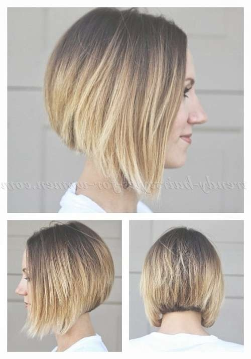 Bob Haircut – Ombre A Line Bob Haircut | Trendy Hairstyles For Regarding Line Bob Haircuts (View 7 of 25)