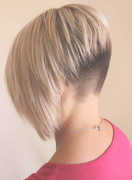 Bob Haircut Shaved Side – Find Hairstyle With Bob Haircuts Shaved In Back (View 6 of 25)