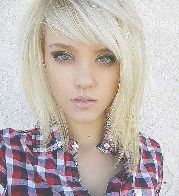 Bob Hairstyle : Bob Hairstyle For Oval Face Beautiful Beautiful In Latest Medium Hairstyles For Oval Faces And Fine Hair (View 16 of 25)
