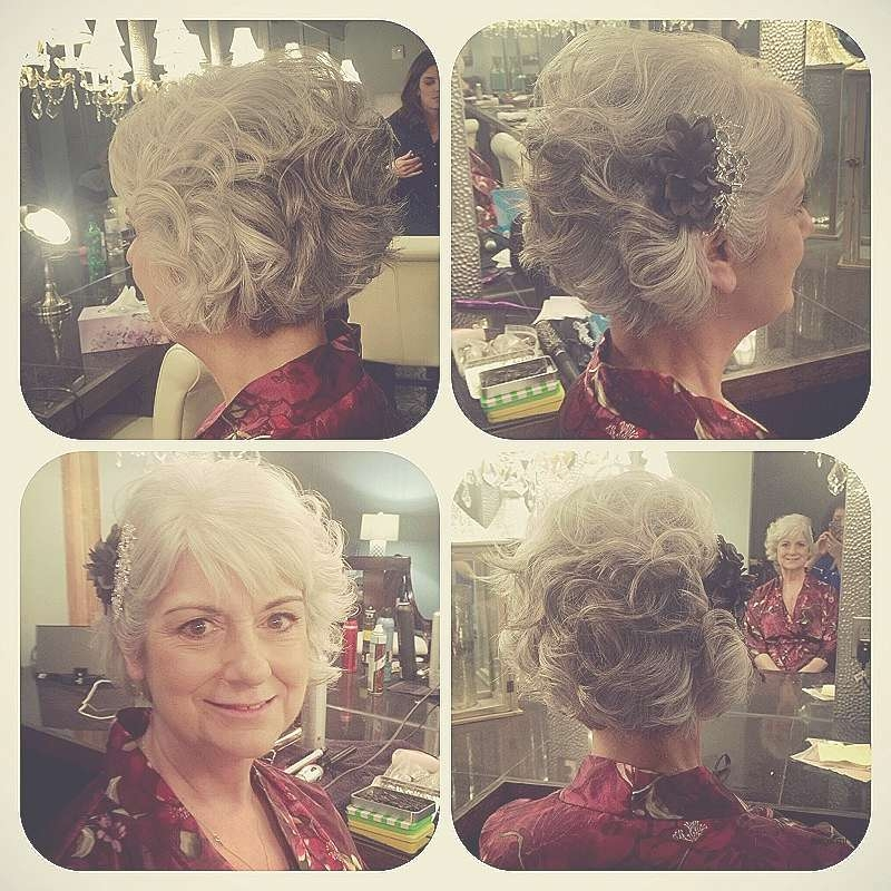 Bob Hairstyle : Bob Hairstyles For Brides Awesome Wedding Updos With Updos For Bob Haircuts (View 24 of 25)