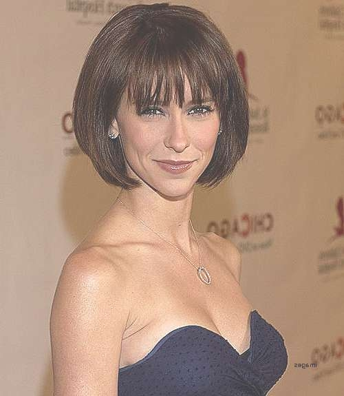 Bob Hairstyle : Long Bob Hairstyles With Full Fringe Inspirational For Full Bob Haircuts (View 16 of 25)