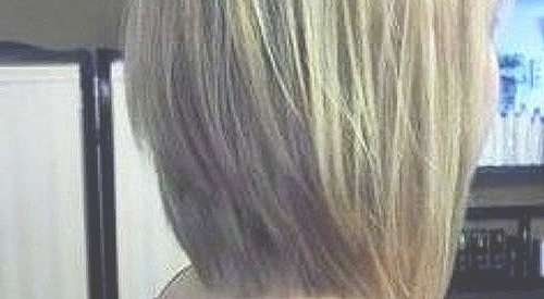 Bob Hairstyle : Medium Length Inverted Bob Hairstyles Awesome Long With Recent Medium Haircuts That Cover Your Ears (View 7 of 25)