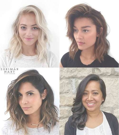 Bohemian Middle Medium Hairstyles For Thick Hair For Most Up To Date Medium Haircuts For Thick Wavy Hair (View 13 of 25)