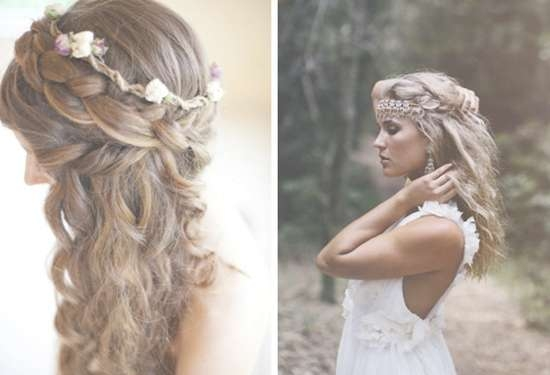 Boho Hairstyle Inspiration | Medium Hair Styles Ideas – 45205 Throughout Current Boho Medium Hairstyles (View 14 of 25)