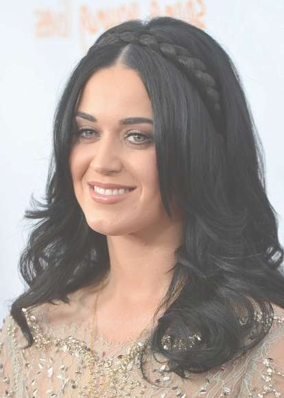 Braided Hairstyles For Long Hair: Katy Perry Haircut – Popular Throughout Best And Newest Katy Perry Medium Hairstyles (View 4 of 25)