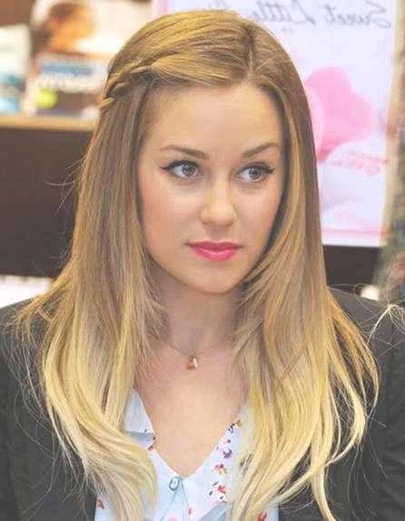 Braided Side Bangs: Lauren Conrad Hair – Popular Haircuts For Most Popular Lauren Conrad Medium Hairstyles (View 5 of 15)