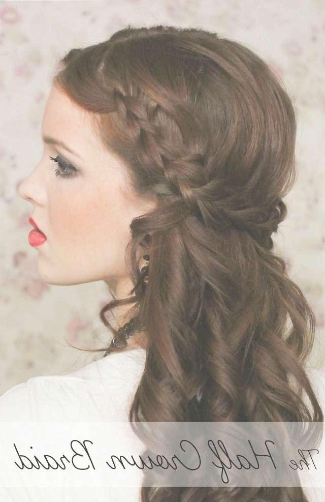 Bridesmaid Hairstyles Medium Hair With Regard To Newest Wedding Medium Hairstyles (View 12 of 25)