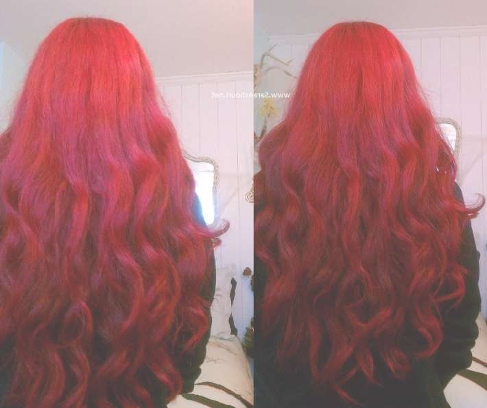 Bright Red Long Hair | Hairstyles | Hair Photo In Best And Newest Bright Red Medium Hairstyles (View 7 of 15)
