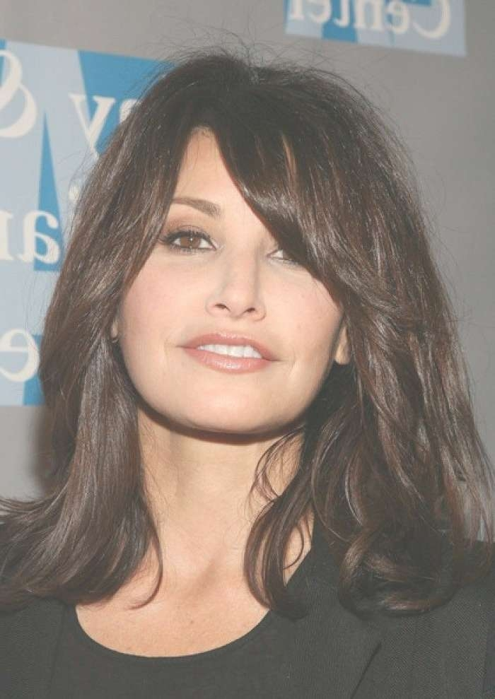 Brunette Hairstyles This Ideas Can Make Your Hair Look Chic Inside Most Recently Medium Hairstyles Brunette Layers (View 4 of 25)