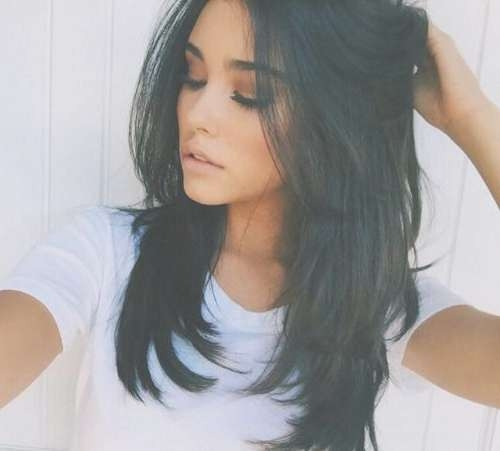 ··@britneyrakel··   To Dye For ?   Pinterest   Hair Style Intended For Most Recently Choppy Layered Medium Haircuts (View 25 of 25)