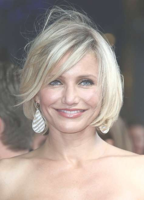 Cameron Diaz Bob Hairstyles For Women Over 40S – Hairstyles Weekly Throughout Recent Medium Haircuts For Women In 40S (View 4 of 25)