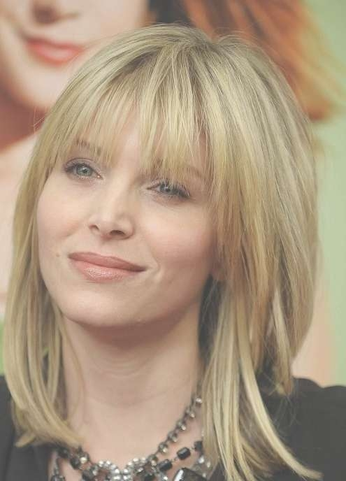 Carpet Medium Hair Bangs Layers Blunt Pertaining To Most Current Medium Hairstyles With Blunt Bangs (View 15 of 15)