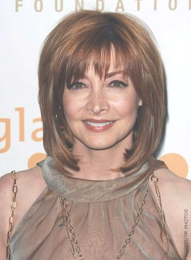 Carpet Medium Length Hairstyles For Ladies Over 40 2017 In Most Current Medium Haircuts Over (View 3 of 25)