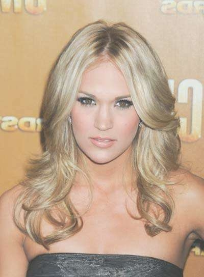 Carrie Underwood – Beauty Riot For Most Popular Carrie Underwood Medium Haircuts (View 23 of 25)