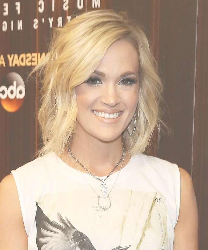Carrie Underwood Haircut – Hairstyles For Woman Pertaining To Carrie Underwood Bob Haircuts (View 8 of 25)