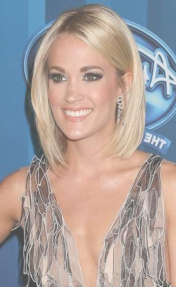 Carrie Underwood Hairstyles And Fashion Trends | Sophisticated Intended For Carrie Underwood Bob Haircuts (View 9 of 25)