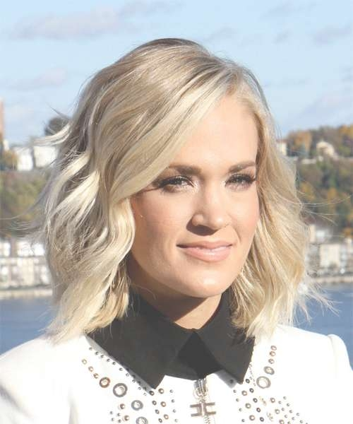 Carrie Underwood Hairstyles For 2018   Celebrity Hairstyles Inside Carrie Underwood Bob Haircuts (View 2 of 25)