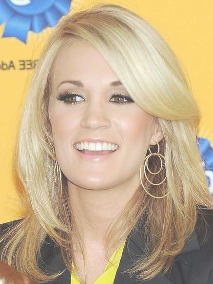 Carrie Underwood Hairstyles – Hairstyles Weekly Pertaining To Best And Newest Carrie Underwood Medium Hairstyles (View 15 of 25)