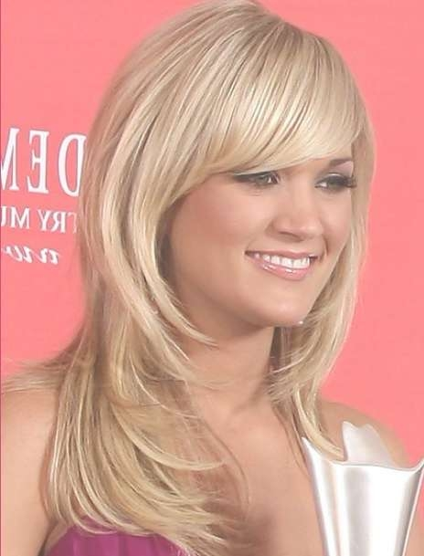 Carrie Underwood Long Straight Hairstyles 2012 – Popular Haircuts For Newest Carrie Underwood Medium Haircuts (View 12 of 25)