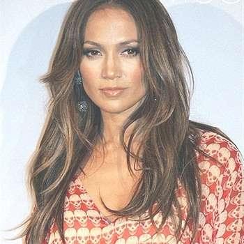 Celebrity Hairstyle: Jennifer Lopezstyle Medium Length Hair (View 24 of 25)