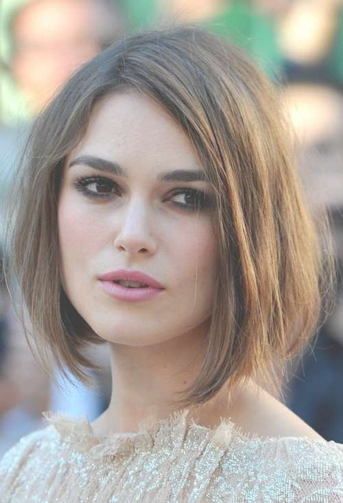 Celebrity Hairstyles: New Posh Bob Haircut Keira Knightley, Keira Throughout Keira Knightley Bob Haircuts (View 12 of 25)