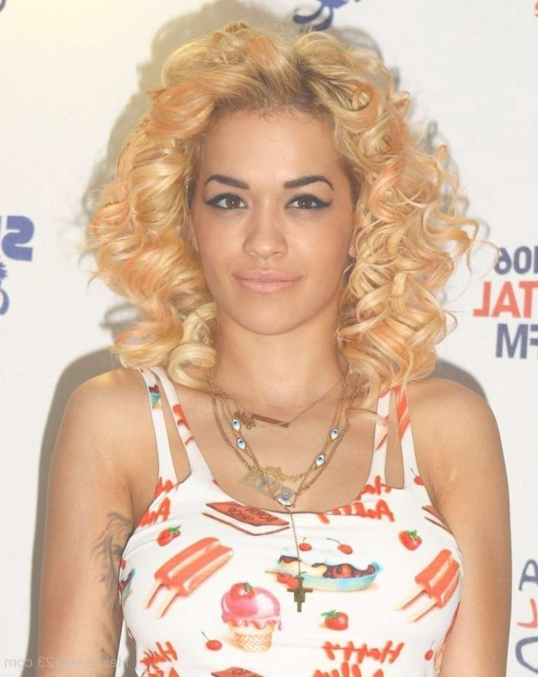 Celebrity Hairstyles – Page 4 For Most Recent Rita Ora Medium Hairstyles (View 4 of 15)