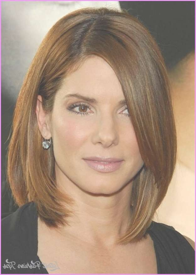 Celebrity Hairstyles Thick Hair – Latestfashiontips ® Pertaining To Most Popular Medium Hairstyles Thick Straight Hair (View 14 of 15)
