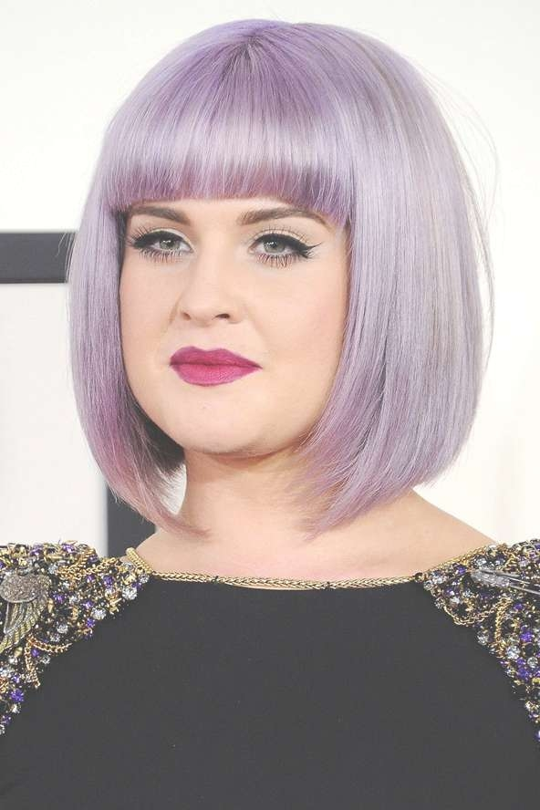 Celebrity Hairstyles: Trends Hairstyle; Bangs For Medium Hair In Most Up To Date Kelly Osbourne Medium Haircuts (View 23 of 25)