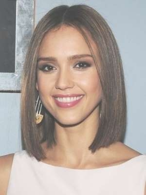 Celebrity Medium Hairstyles | Haircuts And Hairstyles For 2017 Regarding Latest One Length Medium Haircuts (View 15 of 25)