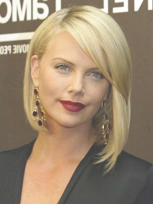 Charlize Theron Best Celebrity Bob Hairstyles – New Hairstyles For Celebrity Bob Haircuts (View 24 of 25)