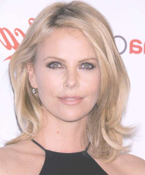how to get charlize theron wavy bob