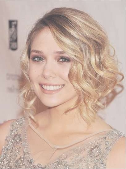 Charming Hairstyles For Medium Hair – Pretty Designs Inside Most Current Wavy Curly Medium Hairstyles (View 3 of 25)