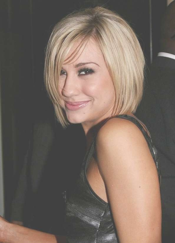 Chelsea Kane Cute Short Bob Haircut – Hairstyles Weekly Throughout Medium To Short Bob Haircuts (View 16 of 25)