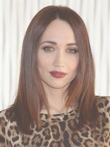 Chiara Francini Medium Length Straight Hair Styles – Popular Haircuts Inside Most Recent Medium Haircuts Straight Hair (View 13 of 25)