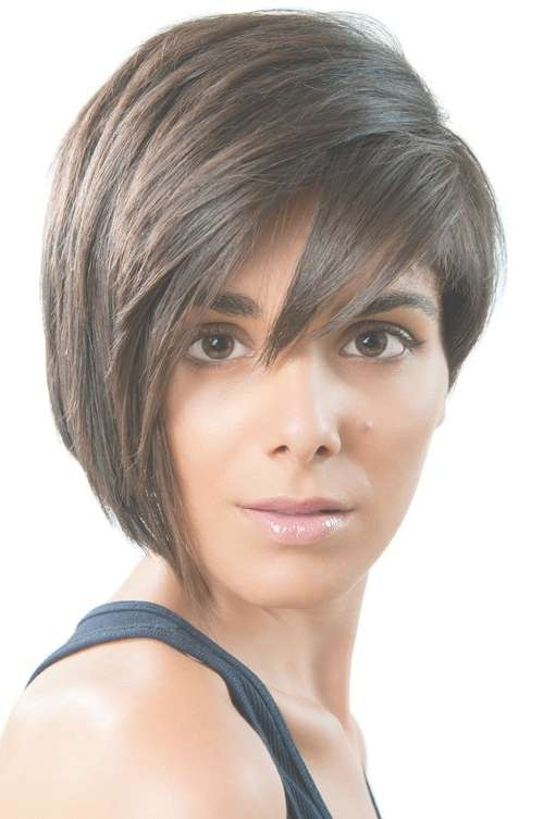 Collection Of Feather Cut Hair Styles For Short, Medium And Long Hair For One Side Longer Bob Haircuts (View 19 of 25)