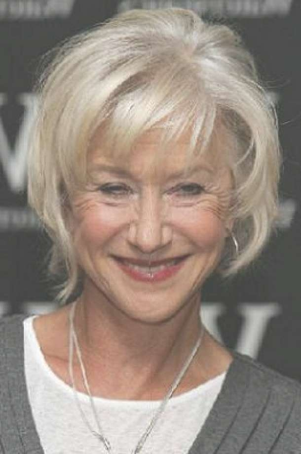 Cool Medium Hairstyles For Older Women With Regard To Best And Newest Medium Haircuts For Older Ladies (View 3 of 25)