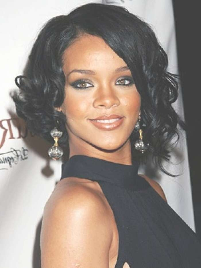 Displaying Gallery Of Short Medium Haircuts For Black Women View 4