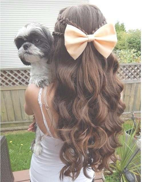 Curly Homecoming Hairstyles For Short, Medium & Long Hair With Regard To Best And Newest Homecoming Medium Hairstyles (View 6 of 15)