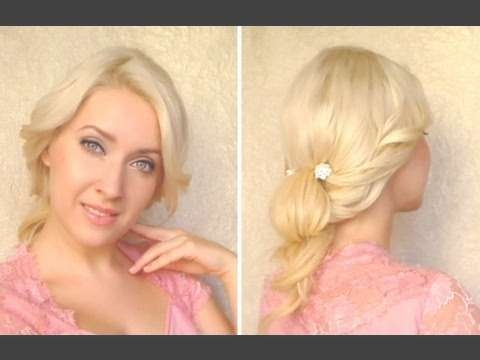 Cute Everyday Updo Tutorial Hairstyle For Long Hair That Cover Intended For Most Popular Medium Hairstyles Covering Ears (View 11 of 15)