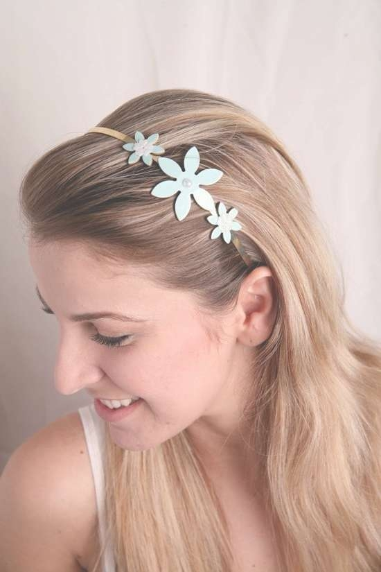 Cute Hair Headband For School Girls  Hairstyles, Easy Hairstyles With Regard To Most Up To Date Cute Medium Hairstyles With Headbands (View 12 of 15)