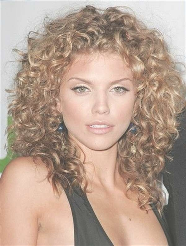 Cute Hairstyles For Curled Hair – Best Hairstyles Inspirational With Current Medium Hairstyles For Very Curly Hair (View 2 of 15)