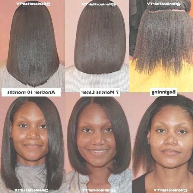 Cute Hairstyles For Medium Length Relaxed Hair Cute Hairstyle Cute Inside Most Popular Medium Haircuts For Relaxed Hair (View 11 of 25)