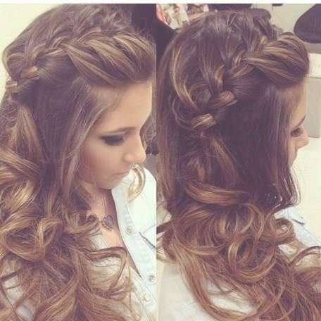 Cute Homecoming Hairstyles For Medium Length Hair | Cute Pertaining To Latest Homecoming Medium Hairstyles (View 11 of 15)