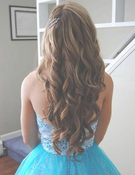 Cute Long Prom Hairstyles 2016   Full Dose Within Most Current Long Ball Hairstyles (View 18 of 25)