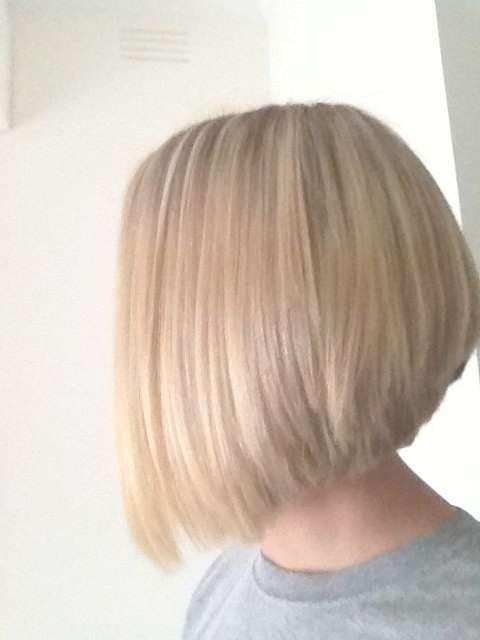 Cute Medium Bob Haircut For Straight Hair – Popular Haircuts Intended For Medium Bob Cut Hairstyles (View 6 of 25)